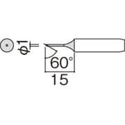 900M-T-1CF [こて先 1C型 面のみ]