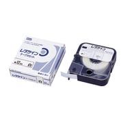 LM-TP312W [チューブマーカー レタツイン テープカセット12mm幅 白]