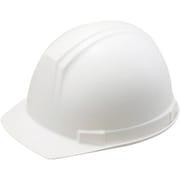 0169-EZ-W8-J [ABS製前ひさし型ヘルメット 白]