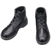 7522N-28.0 [安全靴 編上靴 7522黒 28.0cm]