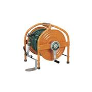 HLA-40-0 [テツノホースリール(オレンジ) 41m防藻ホース、レバーノズルペタル付]