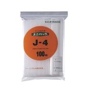 J-4 [「ユニパック」 J-4 340×240×0.04 100枚入]