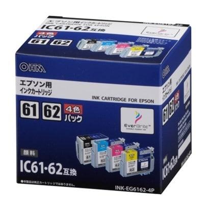 INK-EG6162-4P [エプソンIC61・62対応インク 4色パック]