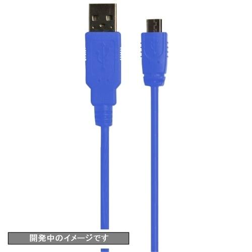 CY-P4US2C4-BL [PS4用 USB2.0コントローラー充電ケーブル 4m ブルー]