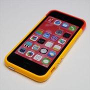 MINIOPAL SELLCTION 25227 [iPhone5/5s用 カラフルバンパー シリコン オレンジ&ピンク]