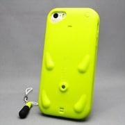 MINIOPAL SELLCTION 22066 [iPhone5/5s用 ブタちゃんモチーフ ストラップ装着可能ケース シリコン 黄緑]