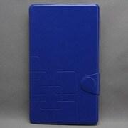MINIOPAL SELLCTION 24008 [NEXUS7(2013年発売モデル) / シンプル柄入りケース 合皮×プラスチック ブルー]