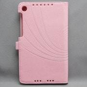 MINIOPAL SELLCTION 23759 [NEXUS7(2013年発売モデル) ペン差し&模様入りケース 合皮 ピンク]