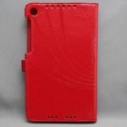 MINIOPAL SELLCTION 23780 [NEXUS7(2013年発売モデル) ペン差し&模様入りケース 合皮 レッド]