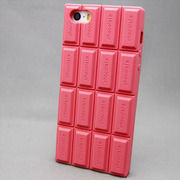 MINIOPAL SELLCTION 21816 [iPhone5/5s用 板チョコ ケース シリコン ピンク]