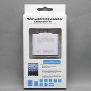 MINIOPAL SELLCTION 25494 [iPad/iPadmini対応 5in1 カメラコネクションキット プラスチック ホワイト]