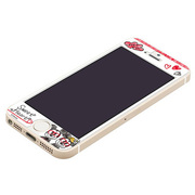 PG-DNYZR747MM iPhone5S/5C/5用衝撃軽減フィルム ミッキー&ミニー [iPhone5S用衝撃軽減フィルム ミッキー&ミニー]