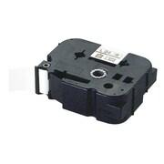 LM-L509BM [ラベルプリンタ ビーポップミニ 9mm幅テープ つや消し銀地黒字]