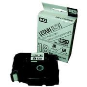 LM-L518BWS [ラベルプリンタ ビーポップミニ 18mm幅巻きつけテープ 白地黒字]