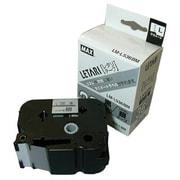 LM-L536BM [ラベルプリンタ ビーポップミニ 36mm幅テープ つや消し銀地黒字]