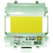 SL-R108T [ビーポップ 使い切りインクリボンカセット 黄]