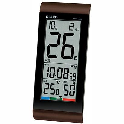 温度計・湿度計つき
