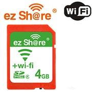 MLEZSDHC4GBCL4JP4GB [Class4 4GB 無線LAN内蔵SDカード ezShare]