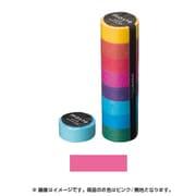 MST-MKT01-PK [マスキングテープ ベーシック(COLORFULLY COLORFUL)/マステ (ピンク/無地)]