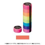 MST-MKT07-RE [マスキングテープ ベーシック(VISIBLE NEON)/マステ (ネオンレッド/無地)]