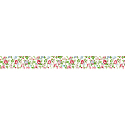 MST-MKT18-WH [マスキングテープ マルチ(ロマンティックフラワー)/マステ (フラワー/ホワイト)]