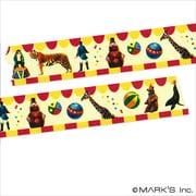 MST-MKT14-A [マスキングテープ マルチ(リアルアニマル)/マステ/サーカス]