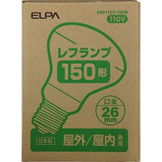 ERF110V135W [白熱電球 レフランプ E26口金 110V 150W形(135W) 屋内/屋外兼用]