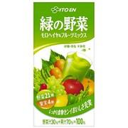 充実野菜緑の野菜ミックス 紙パック 1L×6本 [野菜飲料]