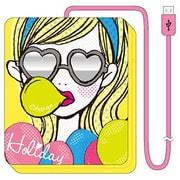 iDP5-AB3 [iDress Girls i 乾電池式充電器forスマートフォン 単3×4本タイプ USB出力:1ポート 最大:0.7A ホリディ]