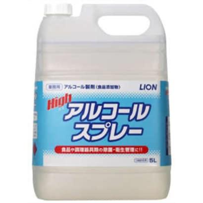 ハイアルコールスプレー 業務用 5L 詰替用 [台所用消毒アルコール]