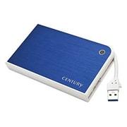 CMB25U3BL6G [MOBILE BOX USB3.0接続 SATA6G 2.5インチHDD/SSDケース ブルー&ホワイト]
