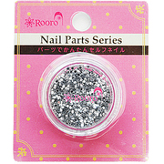 ROT-34-2 [Nail Parts Series ホログラム 丸 シルバー]