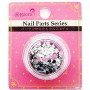 ROT-32-8 [Nail Parts Series ホログラム ハート シルバー]