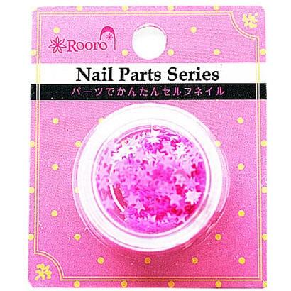 ROT-31-5 [Nail Parts Series ホログラム スター ピンク]