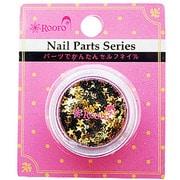 ROT-31-7 [Nail Parts Series ホログラム スター ゴールド]