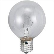 G50E17110V25WC [白熱電球 ボールランプ E17口金 110V 25W形 50mm径 クリア]