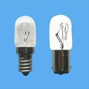 T20B15D110V15WC [白熱電球 ナツメ球 B15D口金 110V 15W形 20mm径 海外ベース クリア]