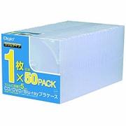 CD-084-50 [CD/DVD/Blu-ray用プラケース スリム 50枚]