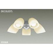 DP-37976 [LEDシーリングファン用灯具 ~6畳 7.1W×5灯 E26 非調光 電球色]