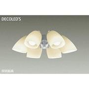 DP-37977 [LEDシーリングファン用灯具 ~8畳 7.1W×6灯 E26 非調光 電球色]