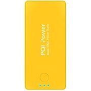 6PPA-06BR0005A [PQI-Power5000C リチウムポリマー搭載モバイルバッテリー 5000mAh USB出力:1ポート 最大:2.1A イエロー]
