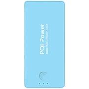 6PPA-06BR0006A [PQI-Power5000C リチウムポリマー搭載モバイルバッテリー 5000mAh USB出力:1ポート 最大:2.1A ブルー]