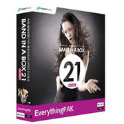 Band-in-a-Box 21 for Mac EverythingPAK [Mac]