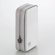 CCD-H96WH [CD/DVDケース セミハード ファスナー付 96枚入 ホワイト]