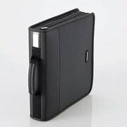 CCD-SS160BK [CD/DVDケース ファスナー付 160枚入]