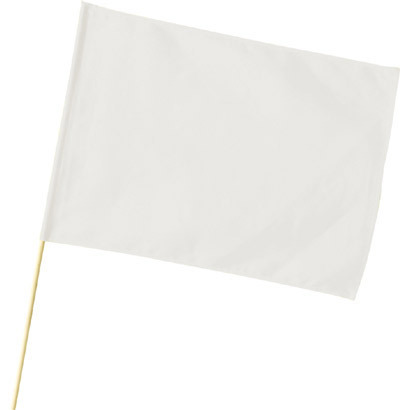 特大旗(直径12ミリ) 白