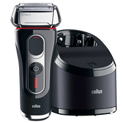5090CC [シェーバー Braun Series5(ブラウン シリーズ5) 洗浄充電器付 3枚刃 海外対応可能]