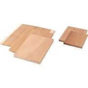 030501 [木彫板 桂 B(240×170×14mm)]