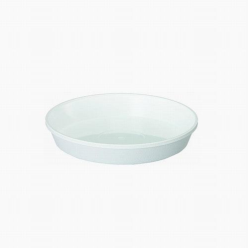 鉢皿サルーン2号 ホワイト