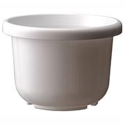 輪鉢F型8号 ホワイト